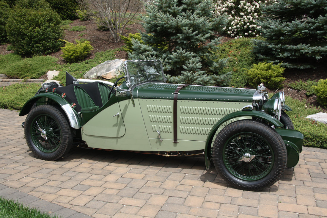 1936 MG NA Special